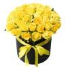 Коробка «Желтые Розы»